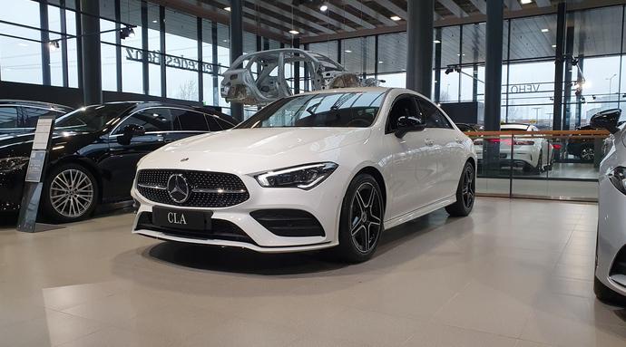 Mercedes-Benz CLA 180 A Business AMG **UUSI AUTO, NOPEAAN TOIMITUKSEEN**, Coupe, Automaatti, Bensiini, KTV-146