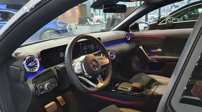 Kuva 3/7, Mercedes-Benz CLA 180 A Business AMG **UUSI AUTO, NOPEAAN TOIMITUKSEEN**, Coupe, Automaatti, Bensiini, KTV-146