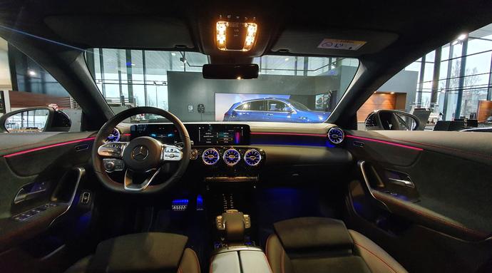Kuva 5/7, Mercedes-Benz CLA 180 A Business AMG **UUSI AUTO, NOPEAAN TOIMITUKSEEN**, Coupe, Automaatti, Bensiini, KTV-146