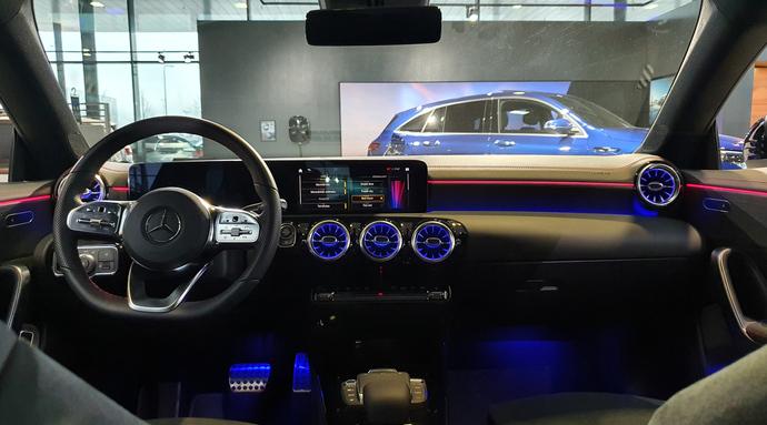 Kuva 6/7, Mercedes-Benz CLA 180 A Business AMG **UUSI AUTO, NOPEAAN TOIMITUKSEEN**, Coupe, Automaatti, Bensiini, KTV-146
