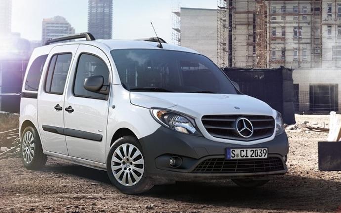 Mercedes-Benz Citan 109CDI KB keskipitkä A2, Tila-auto, Manuaali, Diesel