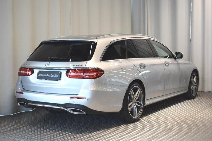 Kuva 5/13, Mercedes-Benz E 400 d 4Matic T Aut. Premium Business AMG ***Huippuvarusteet***, Farmari, Automaatti, Diesel, Neliveto, IP-8493