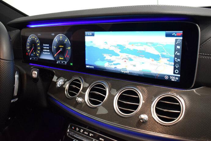 Kuva 9/13, Mercedes-Benz E 400 d 4Matic T Aut. Premium Business AMG ***Huippuvarusteet***, Farmari, Automaatti, Diesel, Neliveto, IP-8493