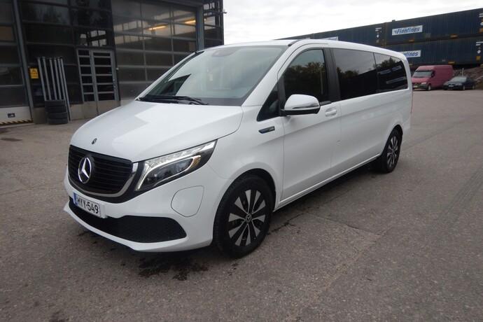 Mercedes-Benz EQV 300 e pitkä A3 **UUSI AUTO, NOPEAAN TOIMITUKSEEN**, Tila-auto, Automaatti, Sähkö, MYY-549