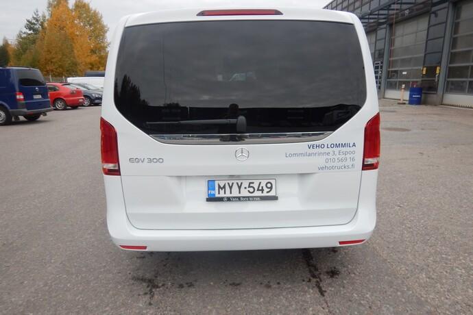 Kuva 5/14, Mercedes-Benz EQV 300 e pitkä A3 **UUSI AUTO, NOPEAAN TOIMITUKSEEN**, Tila-auto, Automaatti, Sähkö, MYY-549