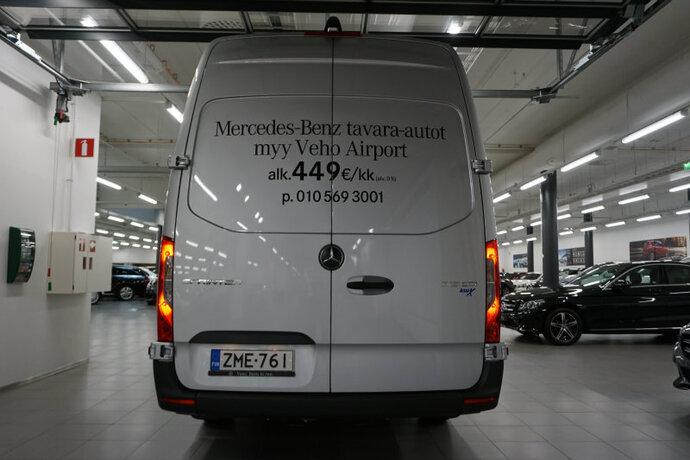 Kuva 4/11, Mercedes-Benz SPRINTER 316CDI RWD-3,5/43K pitkä A3 A (19.1, Pakettiauto, Automaatti, Diesel, ZME-761