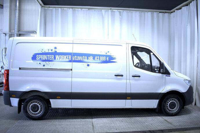 Kuva 4/11, Mercedes-Benz SPRINTER 314CDI FWD-3,5/39K keskip A2 A Worker, Pakettiauto, Automaatti, Diesel, ZMX-550
