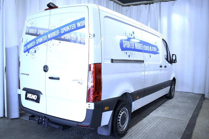 Kuva 5/11, Mercedes-Benz SPRINTER 314CDI FWD-3,5/39K keskip A2 A Worker, Pakettiauto, Automaatti, Diesel, ZMX-550