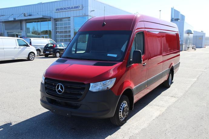 Mercedes-Benz SPRINTER 519CDI RWD-5,0/43K extrapitkä A4 A (20.3 **UUSI AUTO, NOPEAAN TOIMITUKSEEN**, Pakettiauto, Automaatti, Diesel, -288300