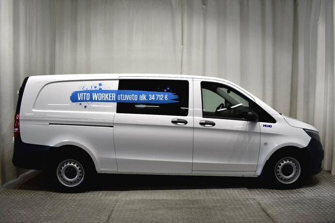 Kuva 6/11, Mercedes-Benz VITO Mercedes-Benz VITO 110CDI FWD-3,05/34K pitkä A3 Worker, Pakettiauto, Manuaali, Diesel, ZNA-258