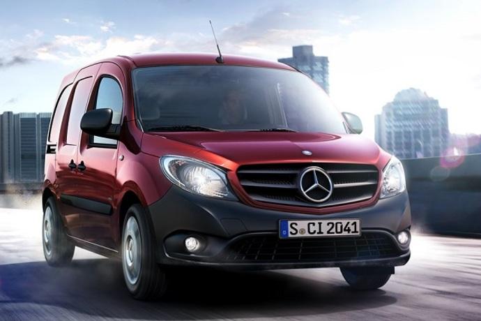 Mercedes-Benz Citan 109CDI K keskipitkä A2, Manuaali, Diesel