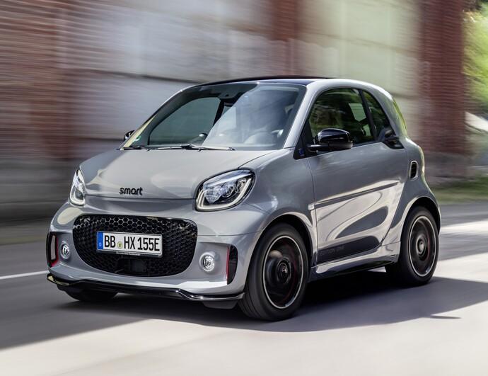Smart fortwo coupé EQ, Coupe, Sähkö